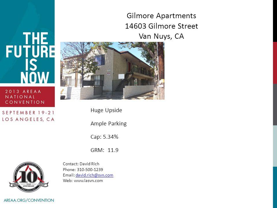 Gilmore Apartments 14603 Gilmore Street Van Nuys, CA