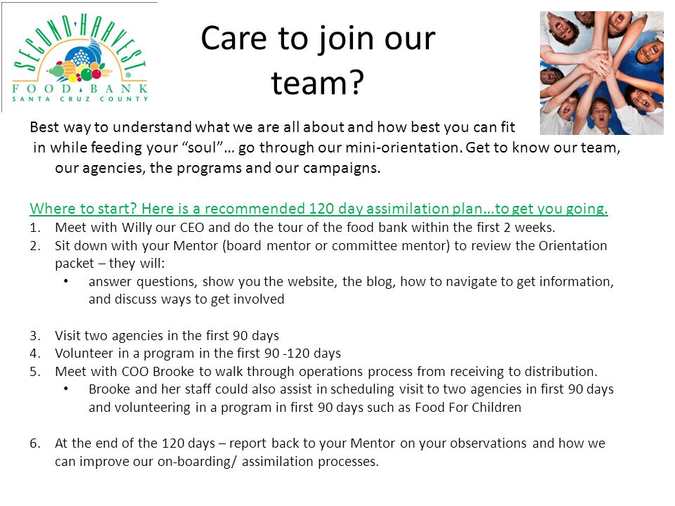 Care to join our team Best way to understand what we are all about and how best you can fit.