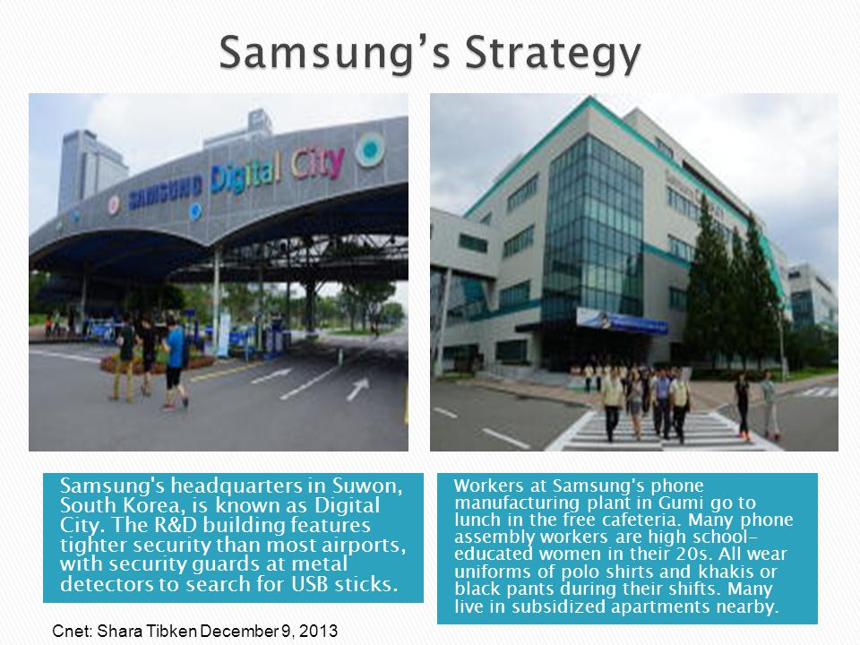 Samsung's Strategy