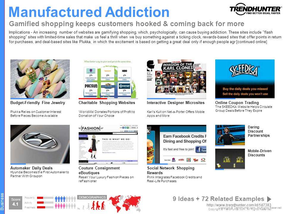 Manufactured Addiction
