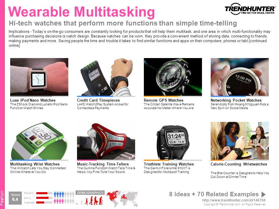 Wearable Multitasking