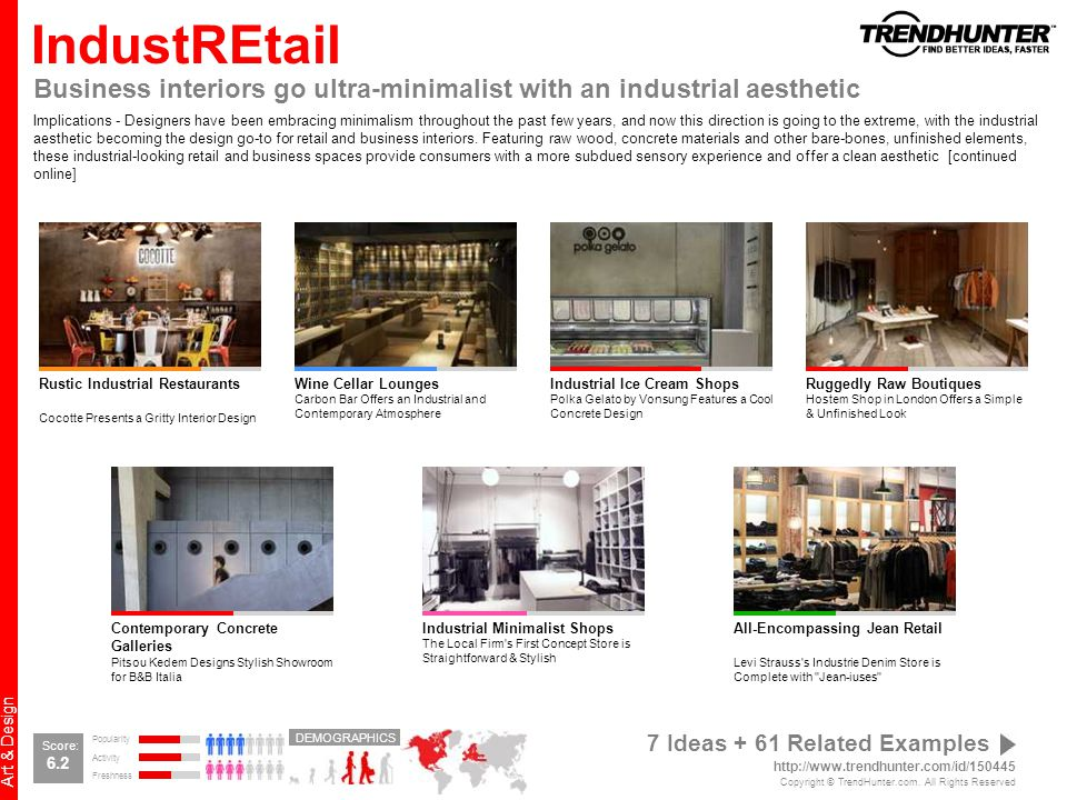 IndustREtail Business interiors go ultra-minimalist with an industrial aesthetic.