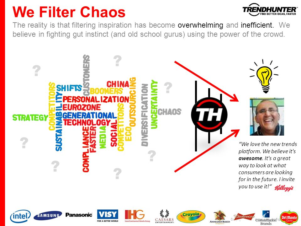 We Filter Chaos