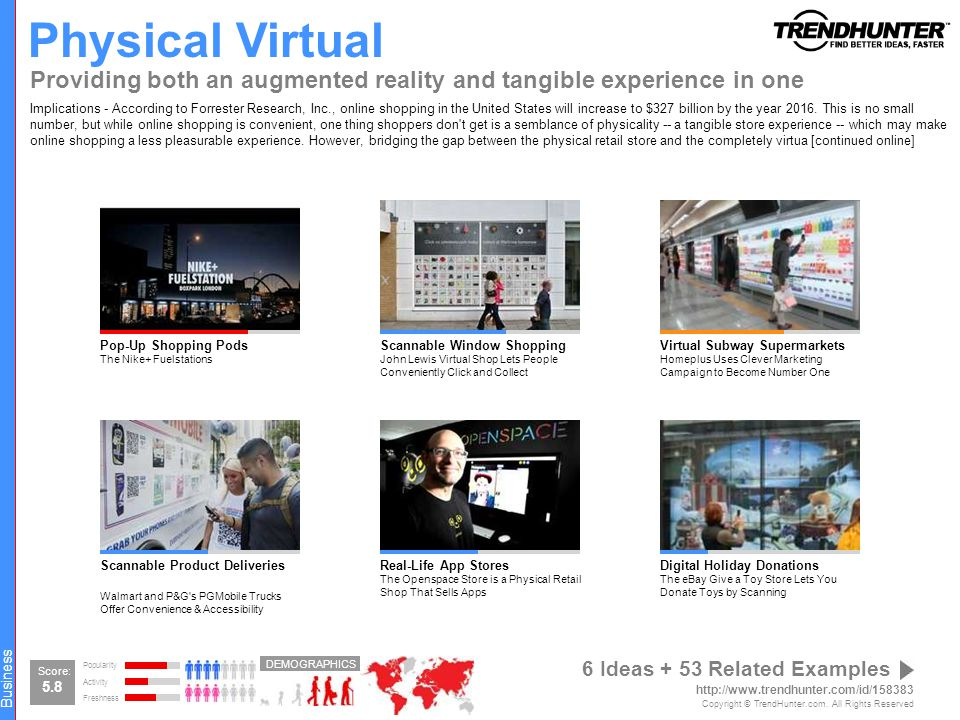 Physical Virtual Providing both an augmented reality and tangible experience in one.