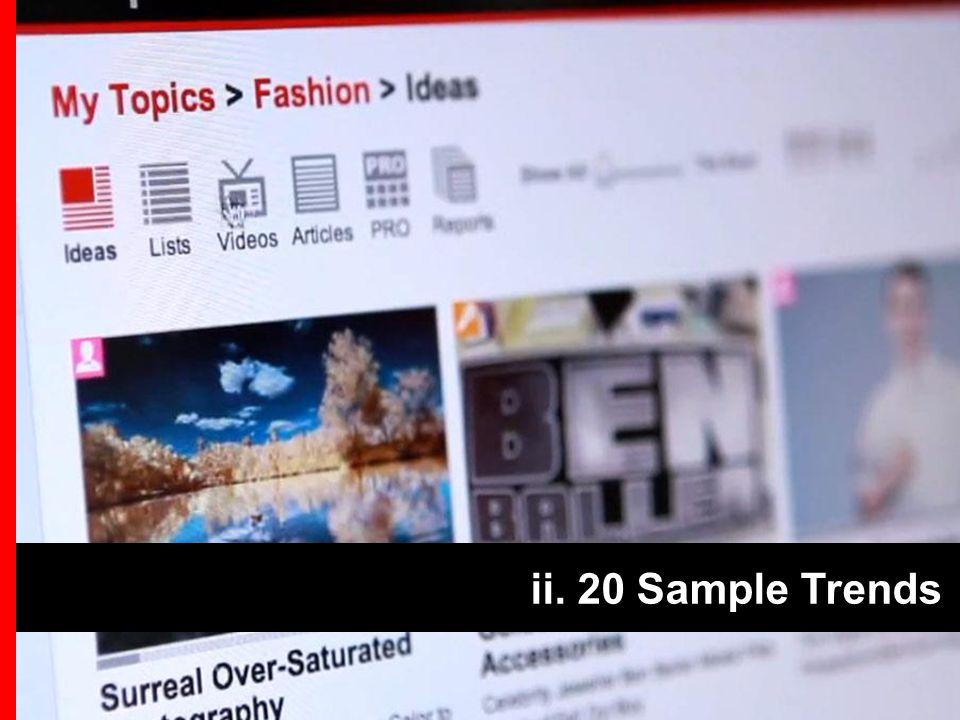 ii. 20 Sample Trends