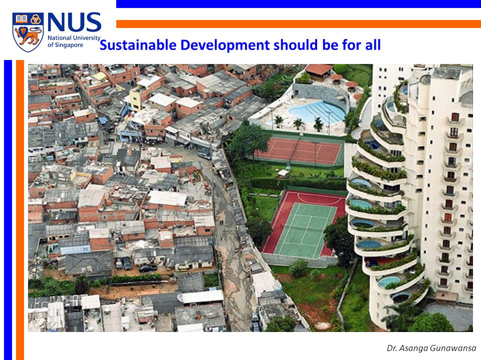 Sustainable Development should be for all