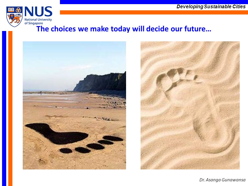 The choices we make today will decide our future…