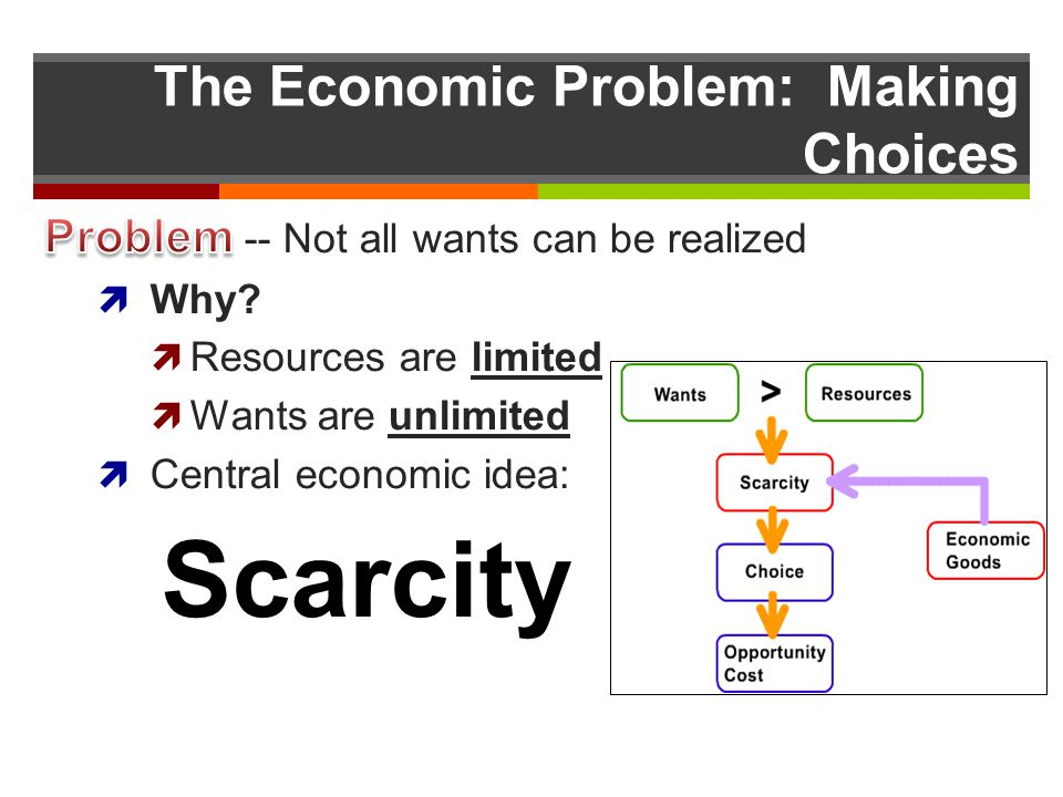 The Economic Problem: Making Choices