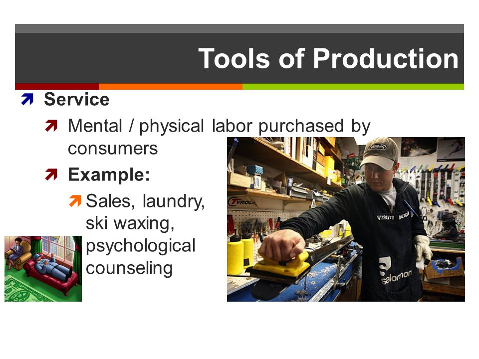 Tools of Production Service