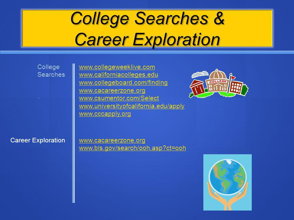 College Searches & Career Exploration