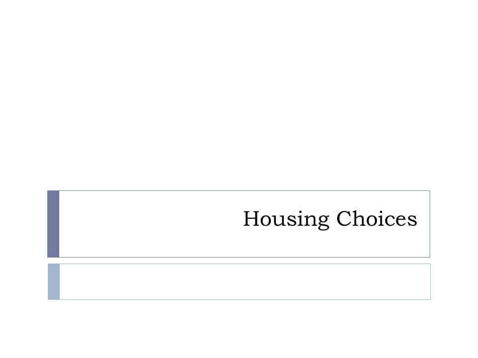 Housing Choices