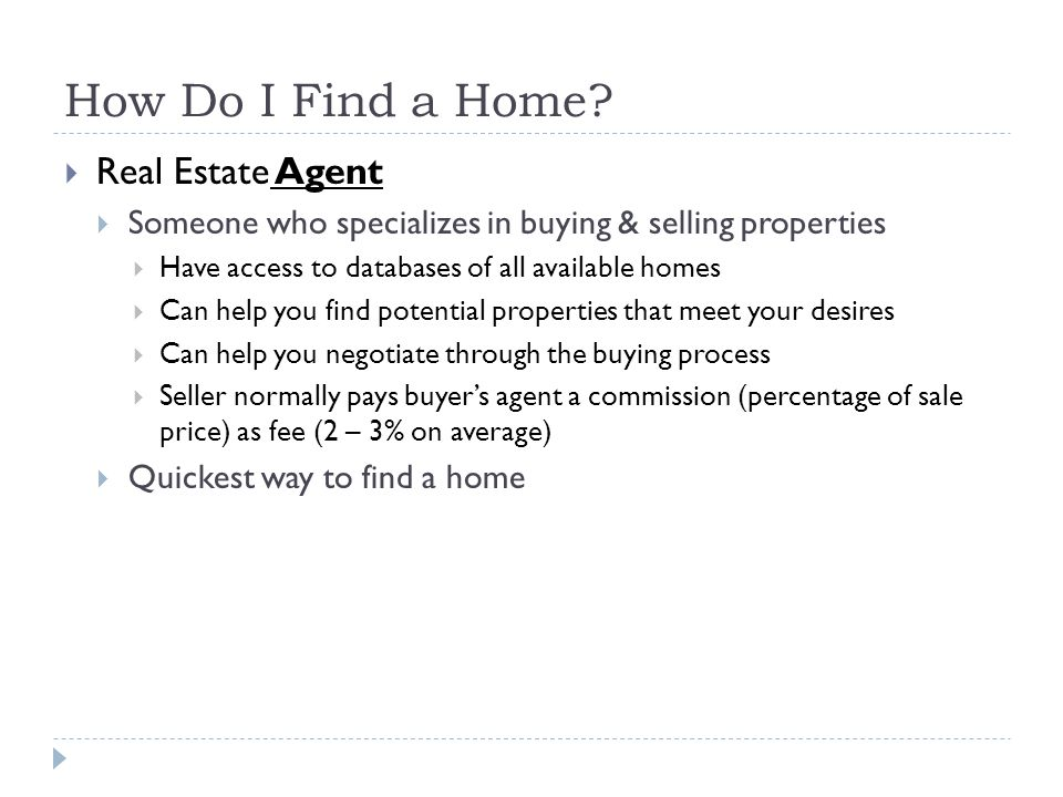 How Do I Find a Home Real Estate Agent