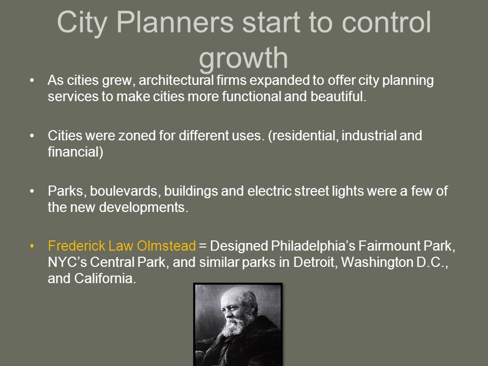 City Planners start to control growth