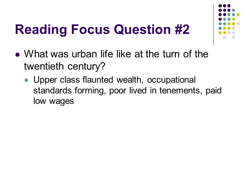 Reading Focus Question #2