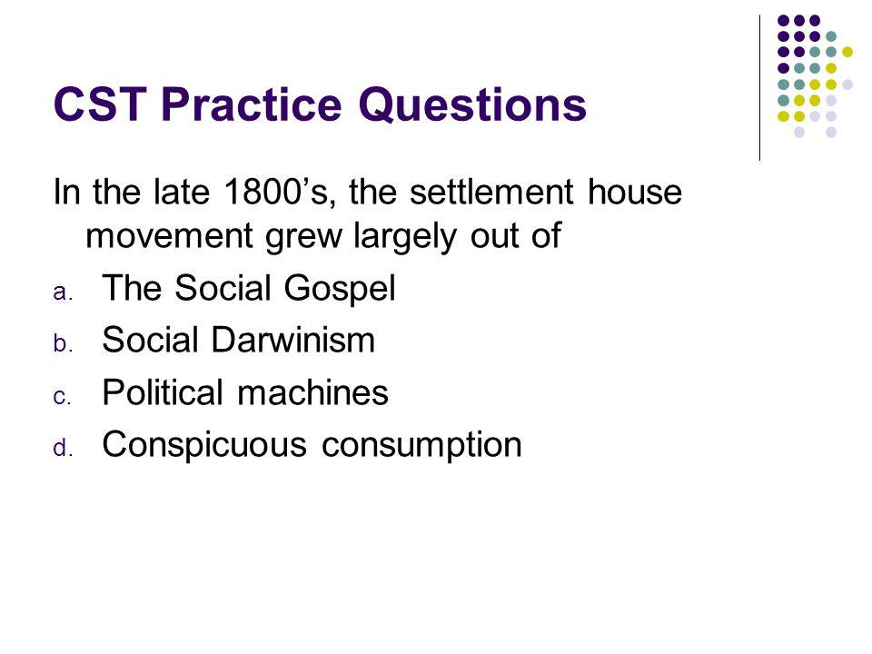 CST Practice Questions