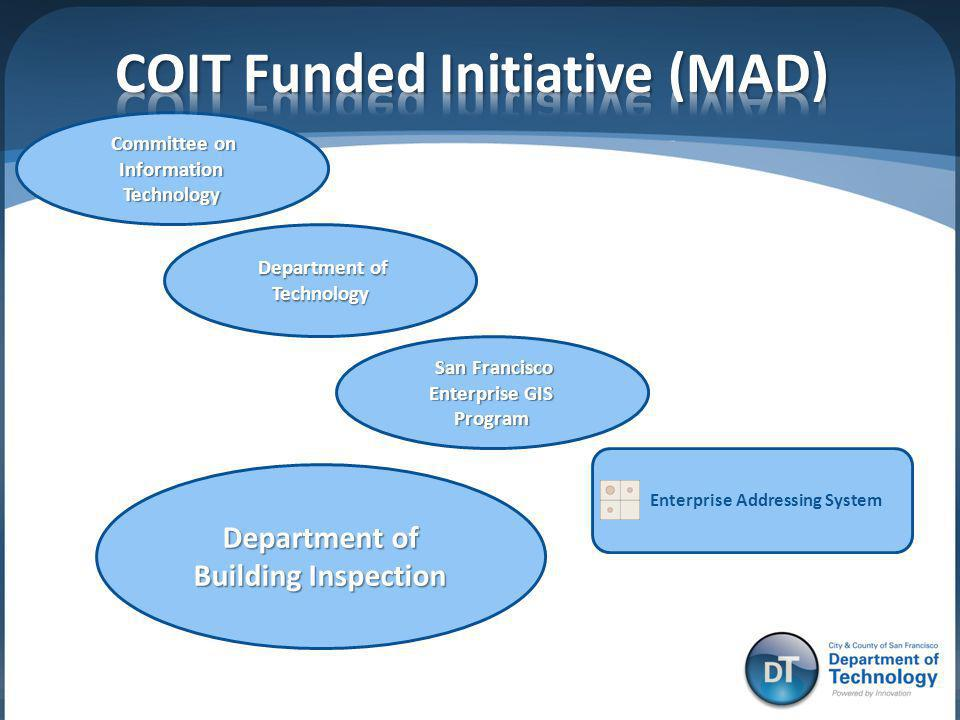 COIT Funded Initiative (MAD)