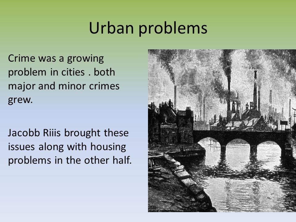 Urban problems