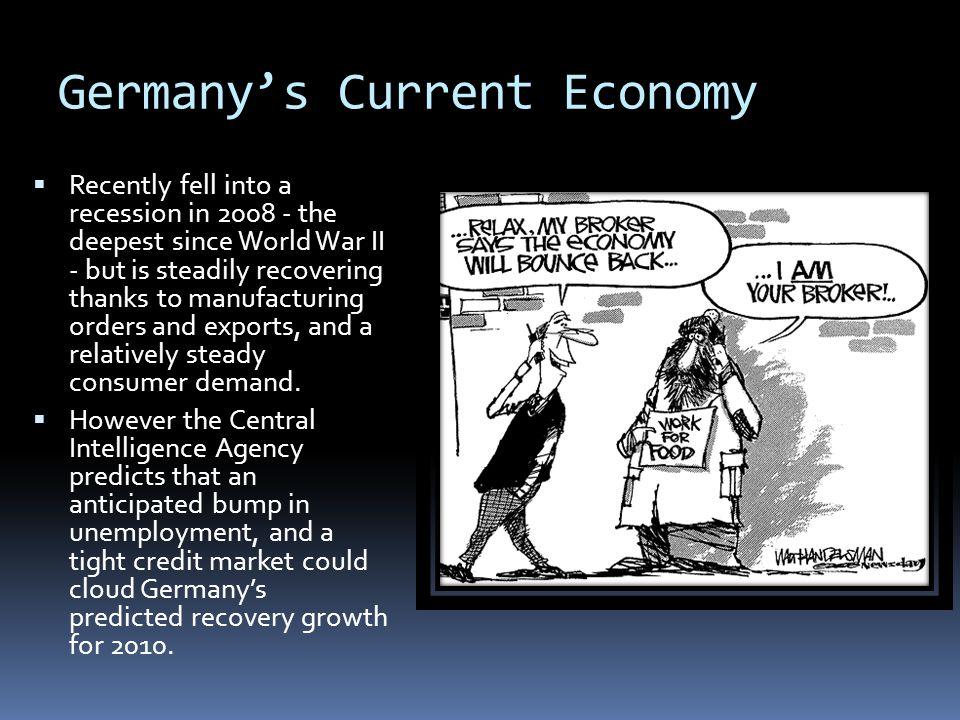 Germany's Current Economy