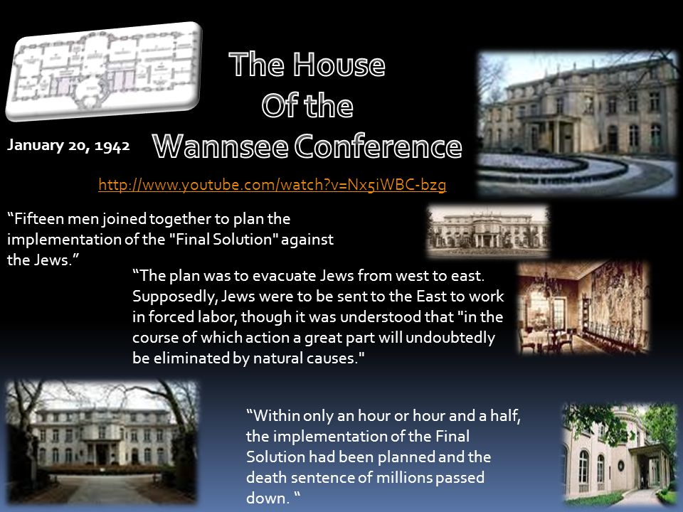 The House Of the Wannsee Conference