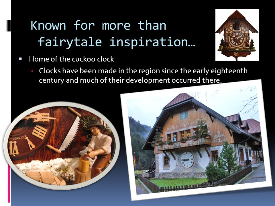 Known for more than fairytale inspiration…