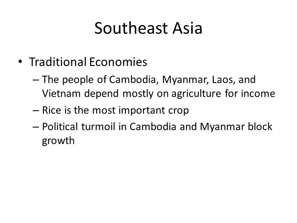Southeast Asia Traditional Economies