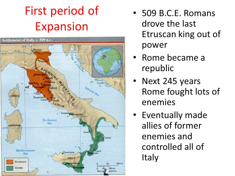 First period of Expansion