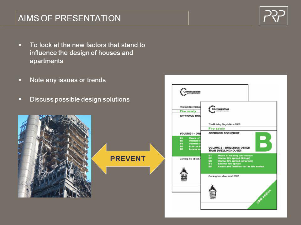 AIMS OF PRESENTATION PREVENT