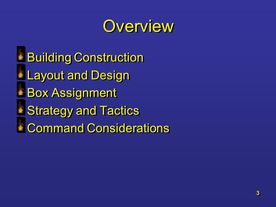 Overview Building Construction Layout and Design Box Assignment
