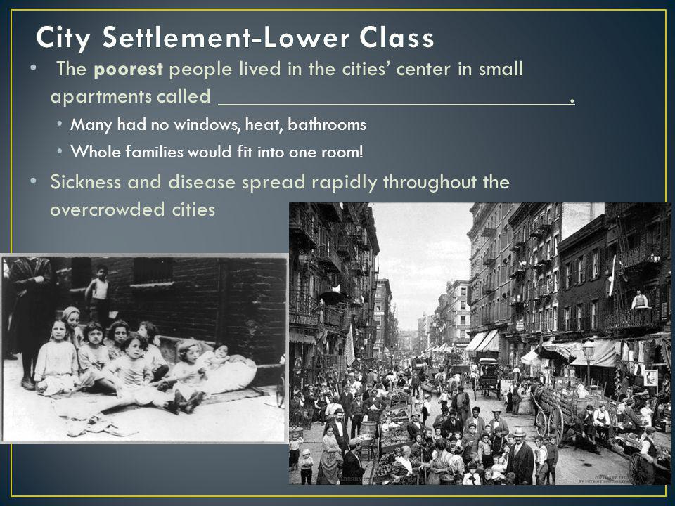 City Settlement-Lower Class