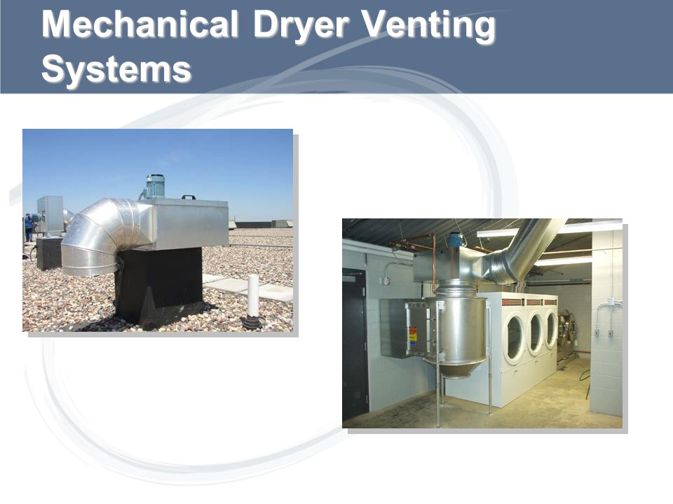 Mechanical Dryer Venting Systems
