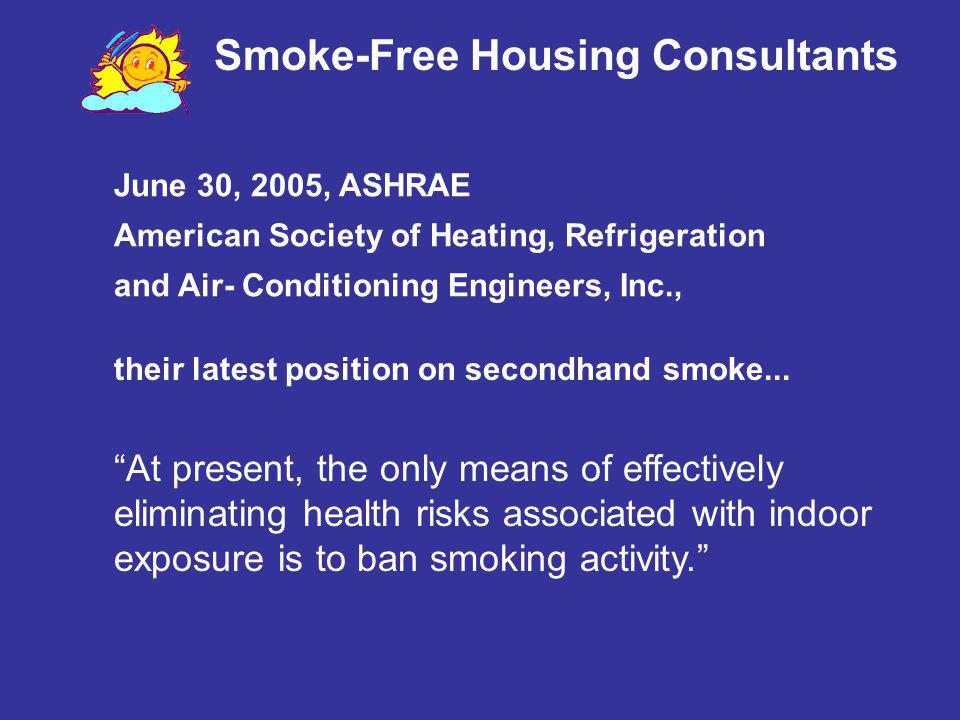 Smoke-Free Housing Consultants