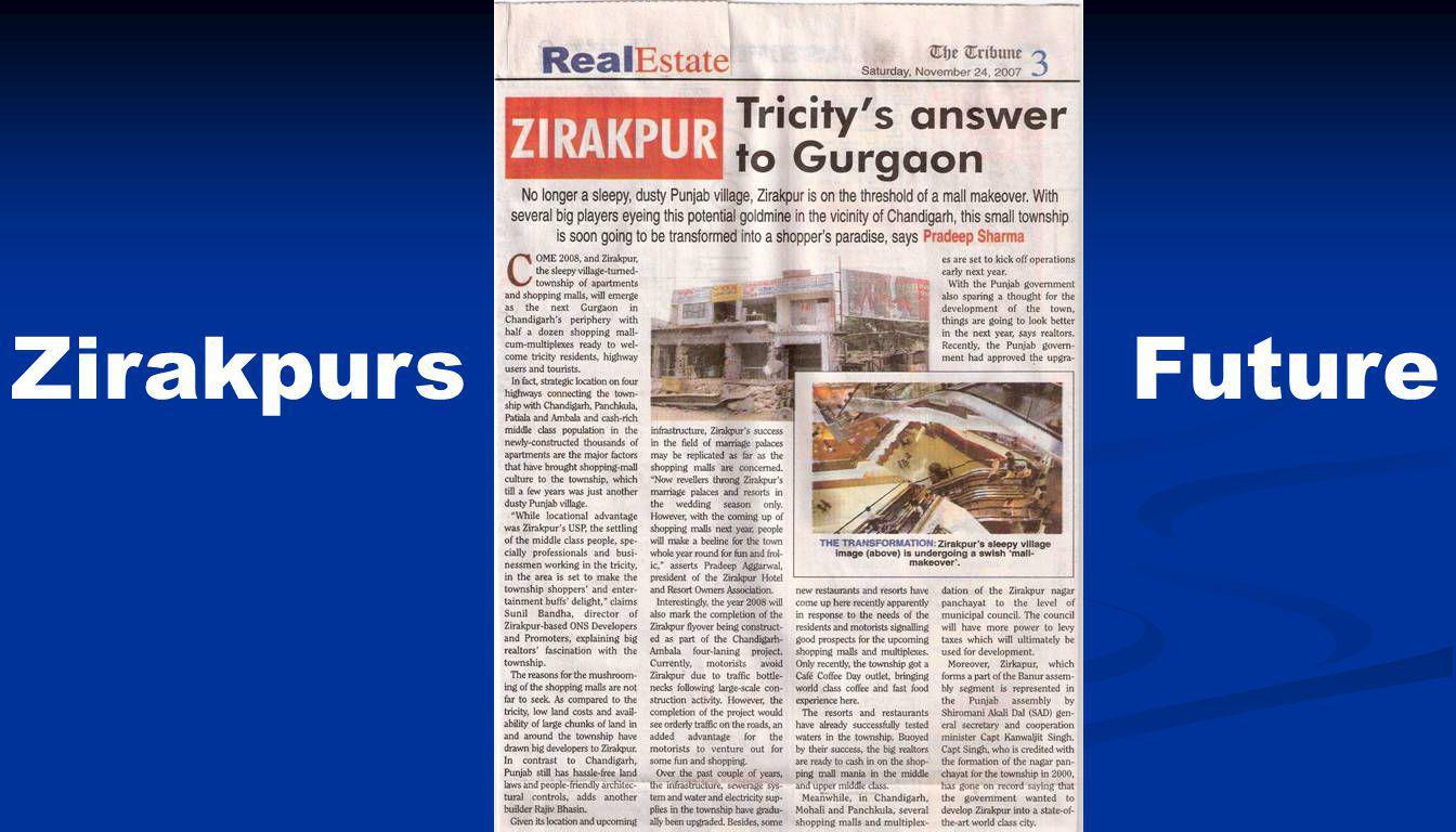 Zirakpurs Future