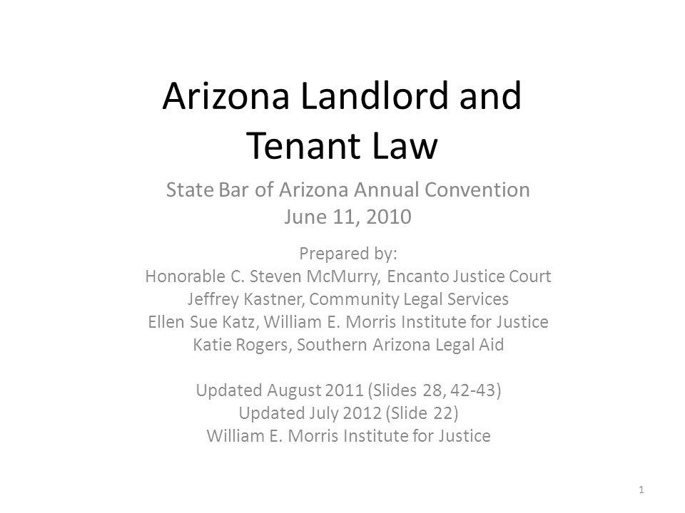 Arizona Landlord and Tenant Law