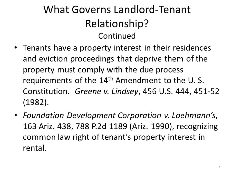 the laws and regulations to promote good relationship between landlords and tenants Finding tenants becoming a landlord: or one who specializes in landlord-tenant law review or write can help you build a better relationship with.