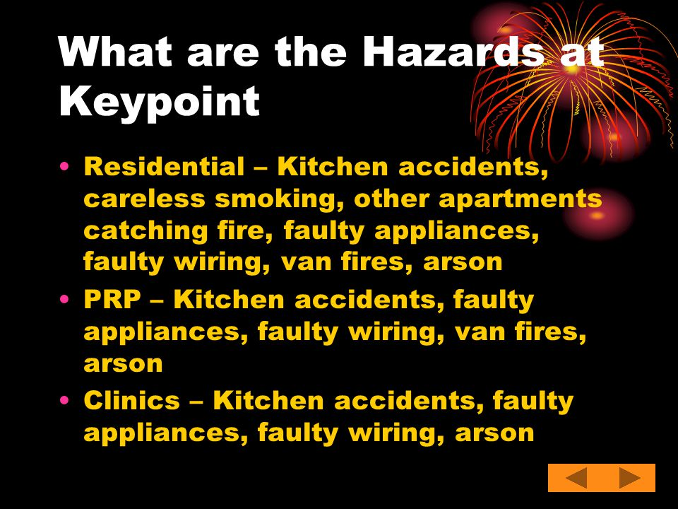 What are the Hazards at Keypoint