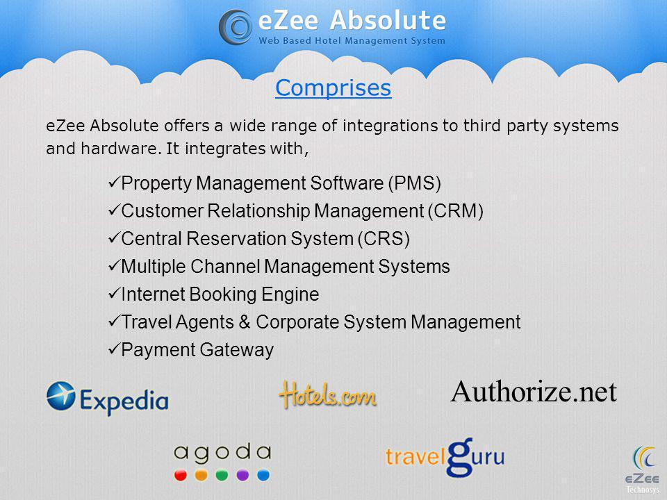 Authorize.net Comprises Property Management Software (PMS)
