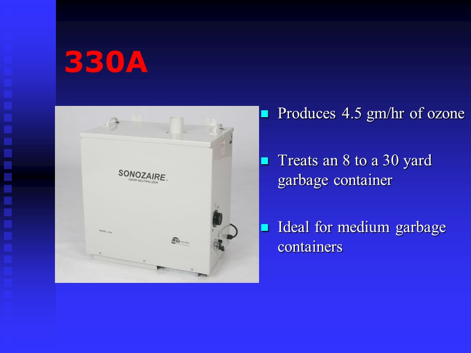 330A Produces 4.5 gm/hr of ozone