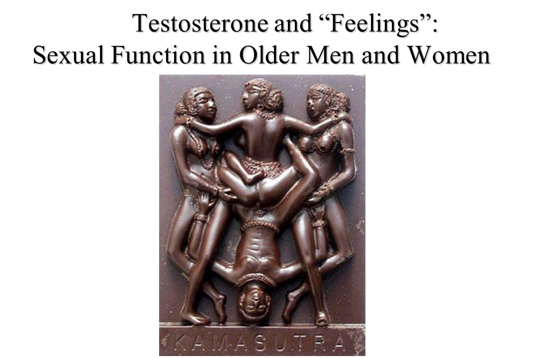 Testosterone and Feelings : Sexual Function in Older Men and Women