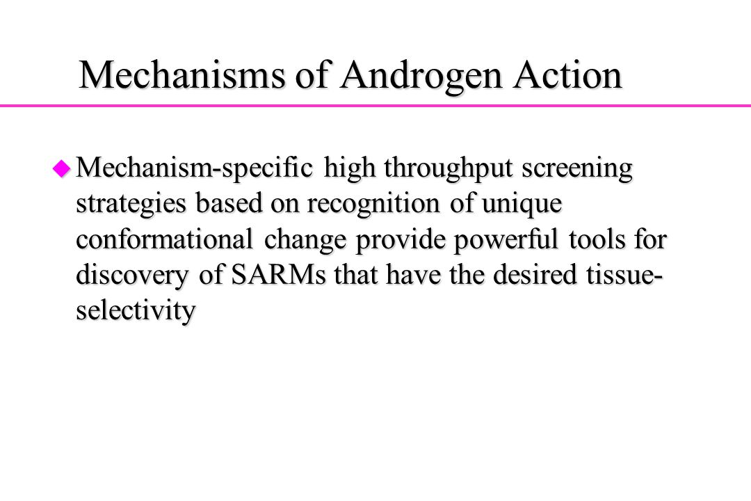 Mechanisms of Androgen Action