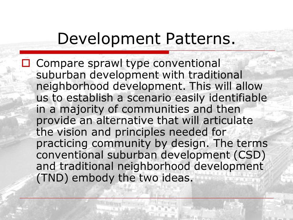 Development Patterns.