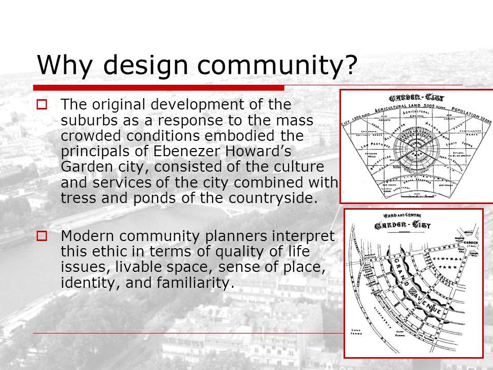 Why design community
