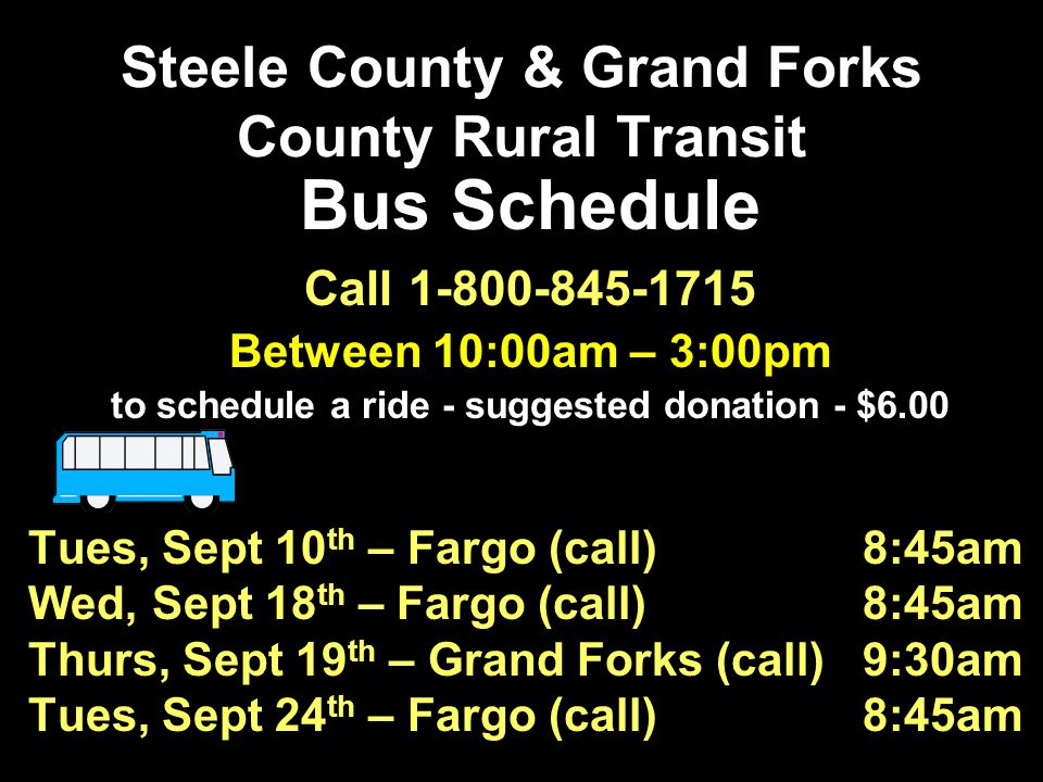 Steele County & Grand Forks County Rural Transit