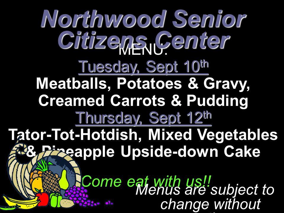 Northwood Senior Citizens Center