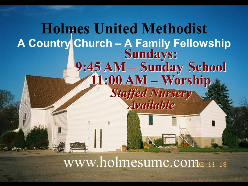 Holmes United Methodist