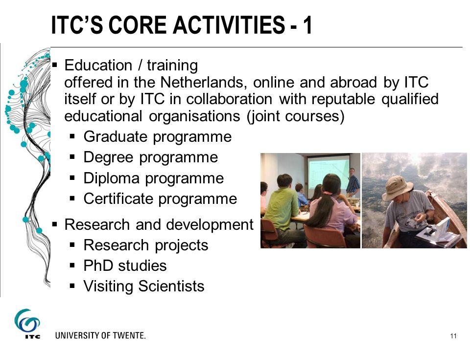 ITC'S CORE ACTIVITIES - 1