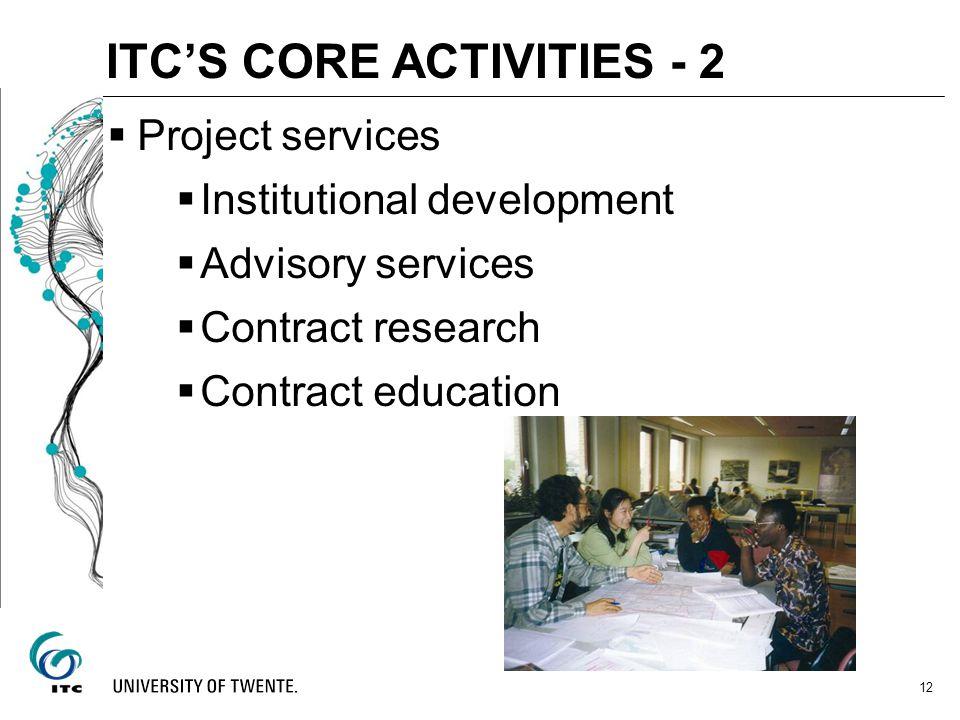 ITC'S CORE ACTIVITIES - 2