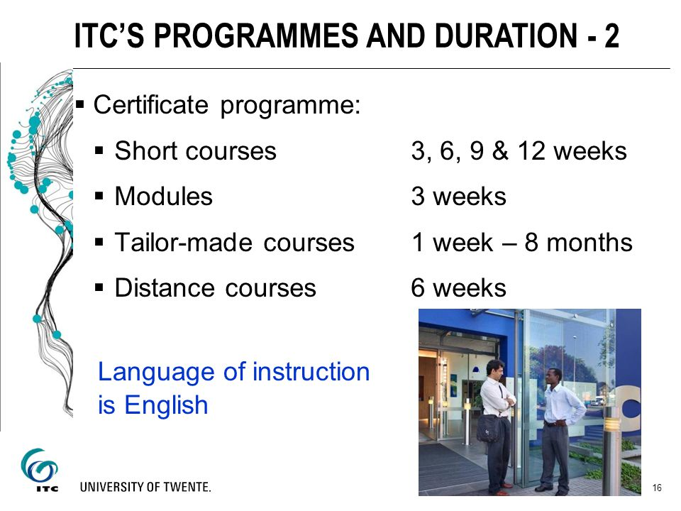 ITC'S PROGRAMMES AND DURATION - 2