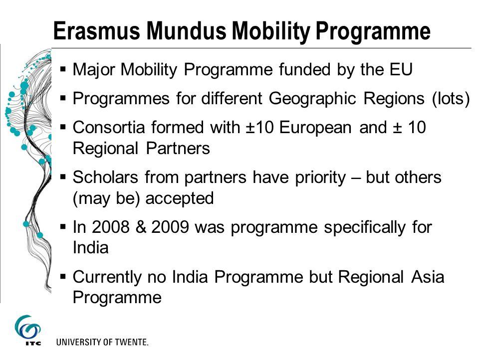 Erasmus Mundus Mobility Programme