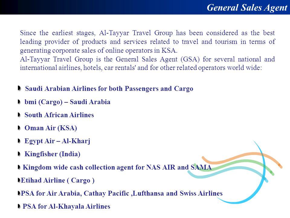 General Sales Agent