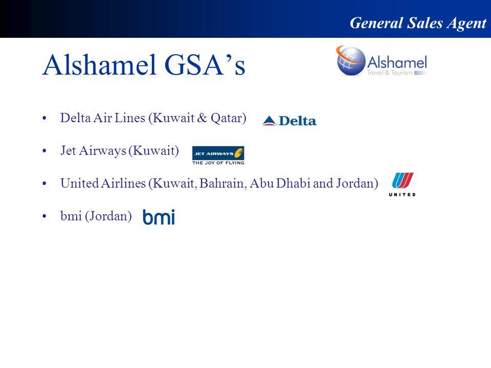 Alshamel GSA's General Sales Agent Delta Air Lines (Kuwait & Qatar)